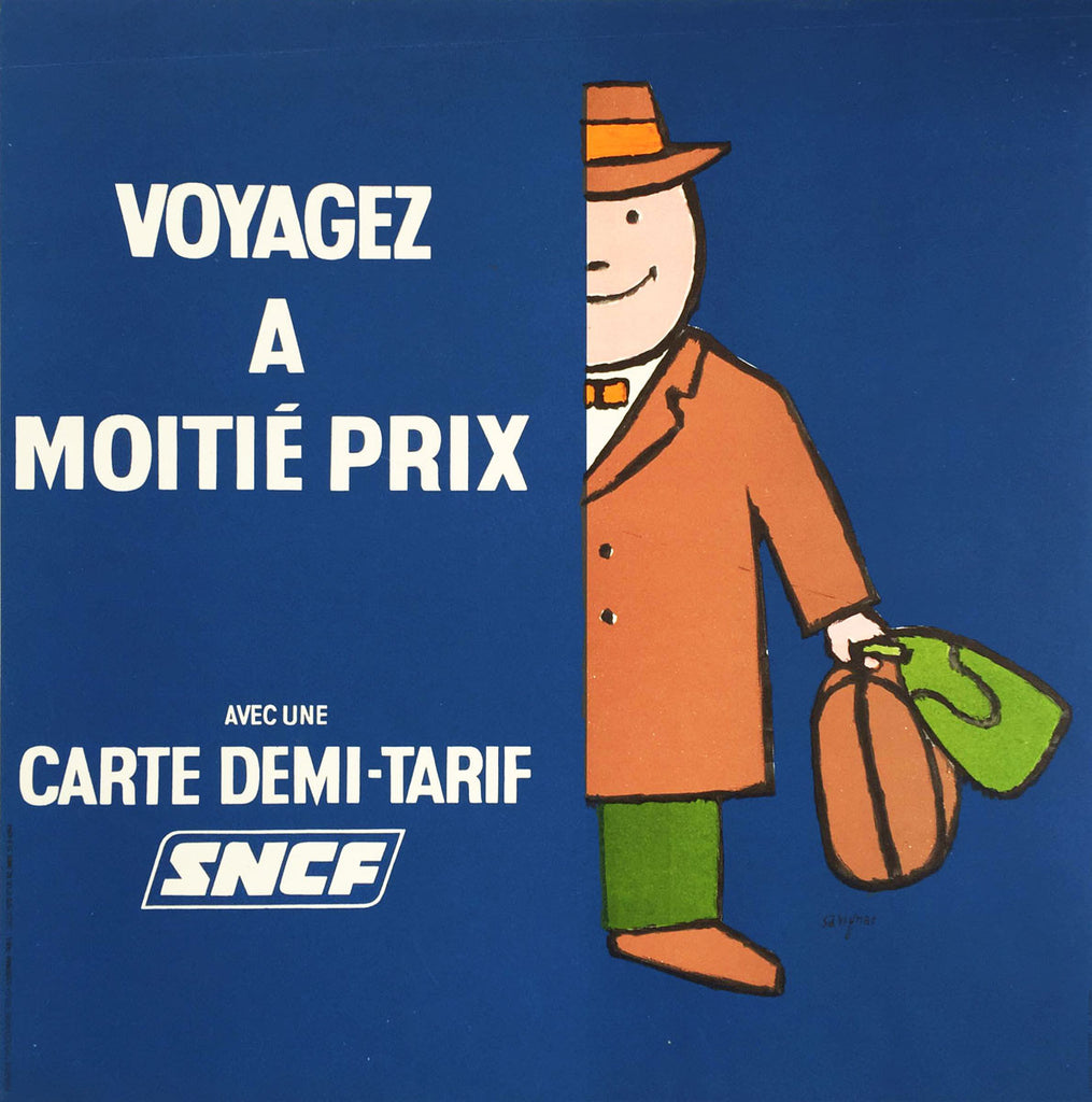 SNCF - Demi-Tarif Man Blue