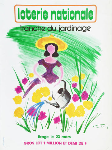Loterie Nationale Tranche du Jardinage