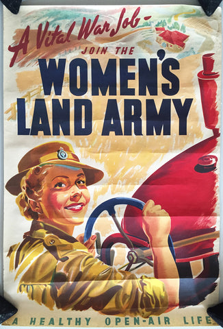 Join the Woman's Land Army, Automobile