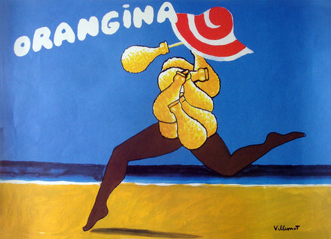 Orangina Running incl Archival Framing
