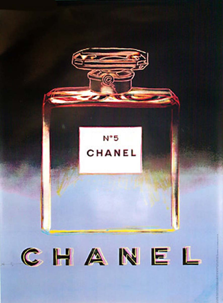 Chanel - Large; Black and Purple