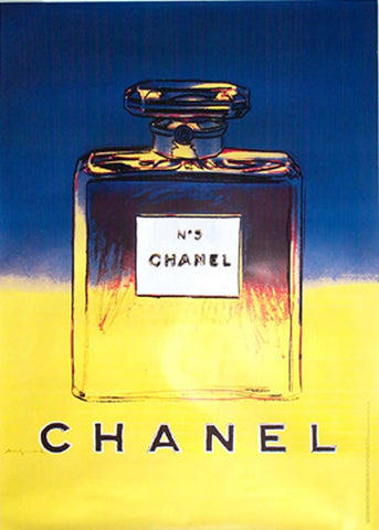 Chanel - Large; Blue and Yellow