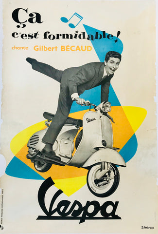 Vespa - Gilbert Becaud