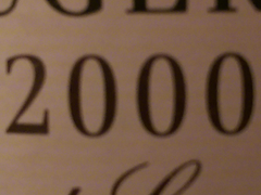 Wines from the 2000's