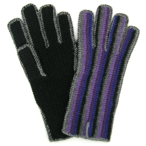 "Alpaca Gloves - ""Rayas"""