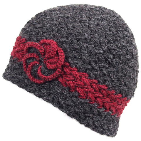 "Alpaca Hat - Braided ""Florcita"""