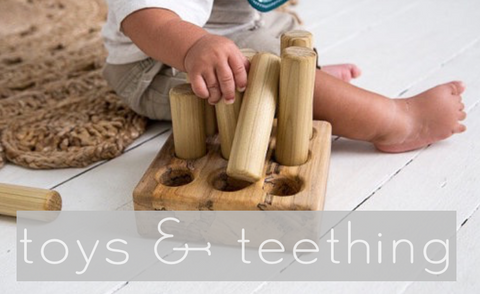 Toys, Teething, and Storage for Babies Toddlers and Big Kids