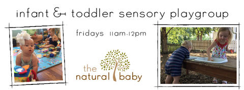 Infant and Toddler Sensory Play Group