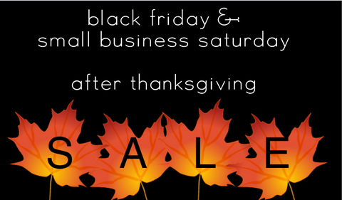 Black Friday Sale After Thanksgiving