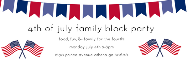 4th of july athens block party