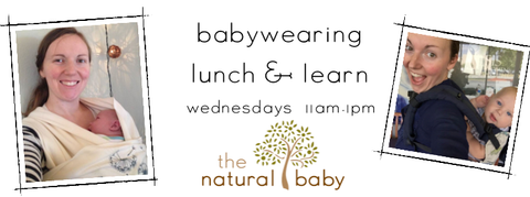 Babywearing Lunch and Learn