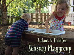 Sensory Play Group at The Natural Baby Infant and Toddler