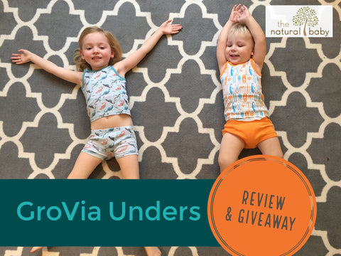 GroVia Unders Review and Giveaway