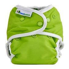 Best Bottom Key Lime Pie, Snap Shell, Waterproof Diaper Cover, Lime Green