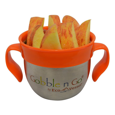 Gobble & Go Stainless Steel Snack Cup