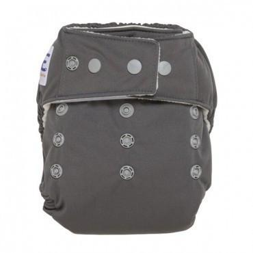 GroVia ONE Cloud - Gray all in one cloth diaper