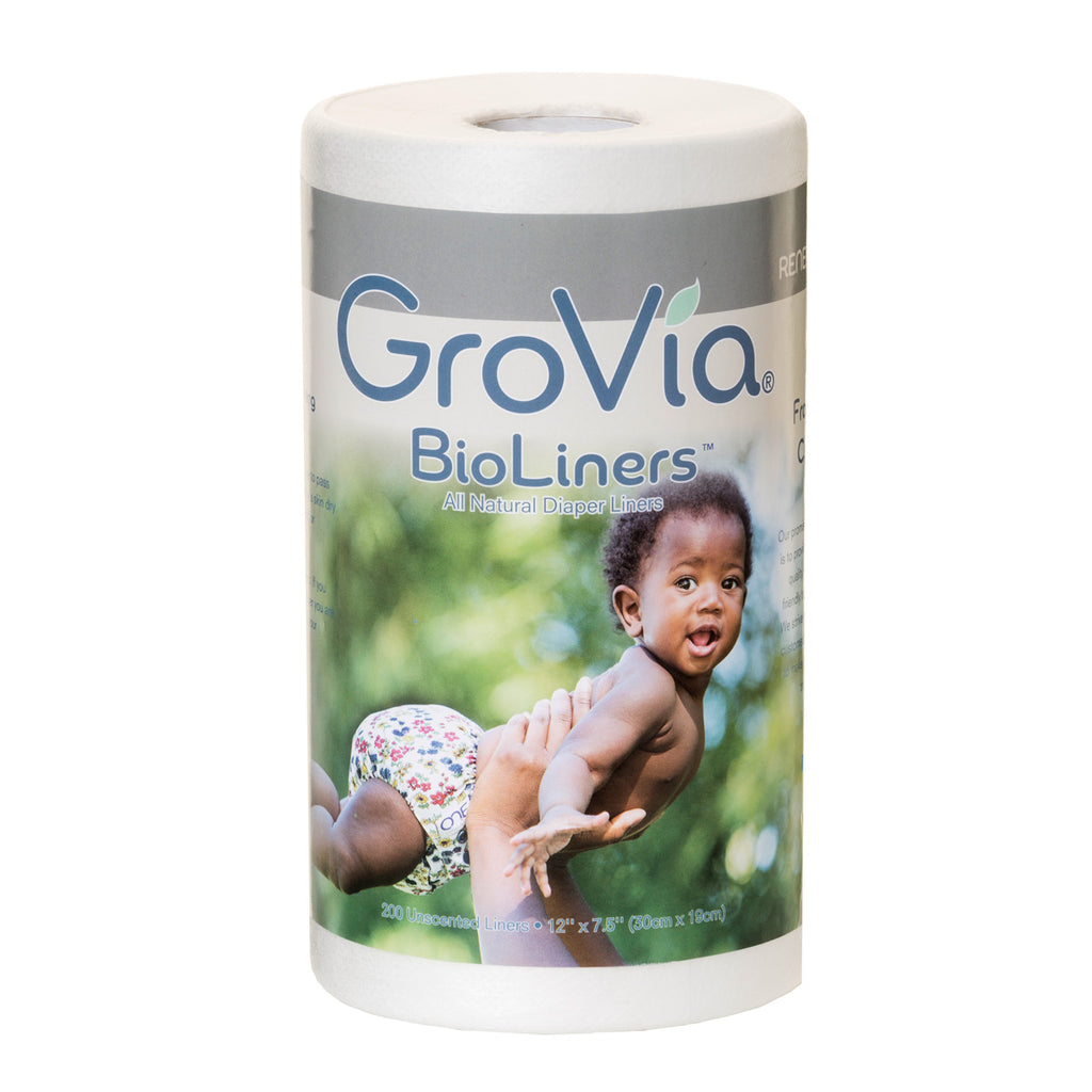 Grovia BioLiners - biodegradable diaper liners for lining cloth diapers