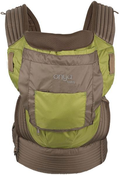 Onya Baby Carriers, Outback, Olive Green and Chocolate Chip,  Ripstop Nylon Outdoor baby carrier, hot weather, moisture wicking cool, mesh, performance,