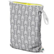 Planet Wise Large Wet Bag, Hanging, Aim Twill, Grey Arrows