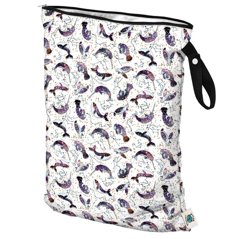 Planet Wise Large Wet Bag, Hanging, Celestial Sea, Constellations