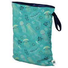 Planet Wise Large Wet Bag, Hanging, Jelly Jubilee, Jellyfish under the Sea