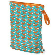 Planet Wise Large Wet Bag, Hanging, Sly Fox, Teal Bag for Concealing dirty diaper smells