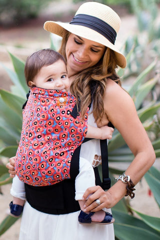 Tula Toddler Carrier in Poppy Sky