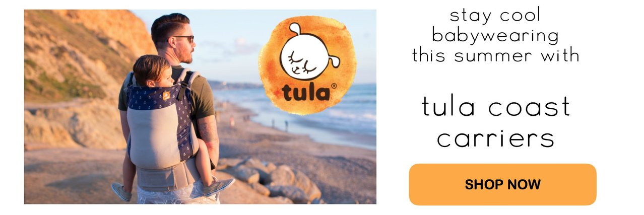 Summer Babywearing: Tula Coast Carriers, Mesh Carriers for Summer Babywearing, Baby Carrier for summer, hot weather