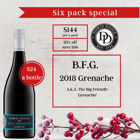 Christmas Six Pack - B.F.G. Grenache 2018