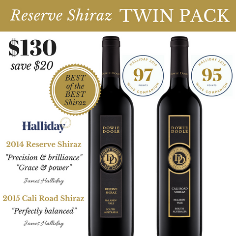Reserve Shiraz Twin Pack