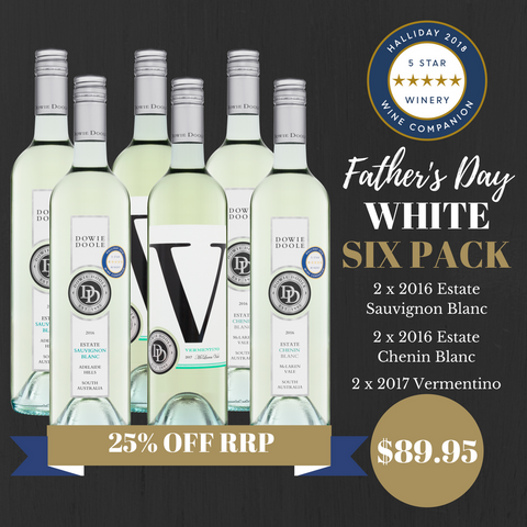 Father's Day WHITE Six Pack