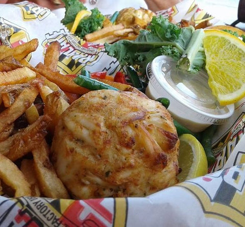 *World Famous Crabcake Mix (Jumbo Lump Crab Included) Large Order