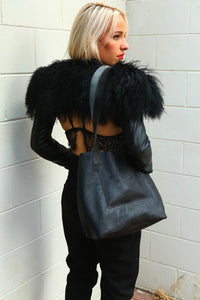 LITTLE LYGON BAG IN BLACK (*PRE-ORDER)