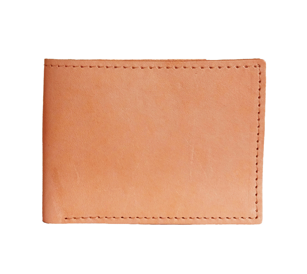 KANGAROO BIFOLD WALLET IN TAN