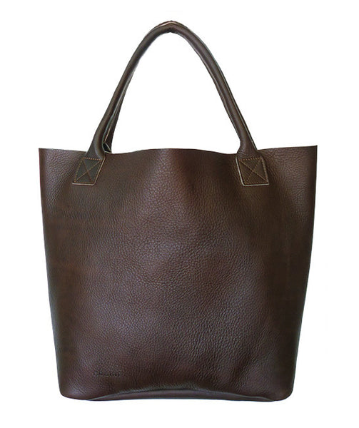 PORTSEA GETAWAY BAG IN DARK CHOCOLATE