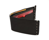 FOLD ON FLINDERS WALLET IN  BLACK
