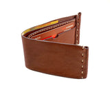FOLD ON FLINDERS WALLET IN CHOCOLATE