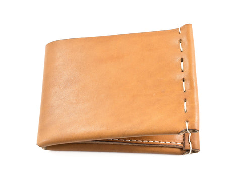 FOLD ON FLINDERS WALLET IN TAN
