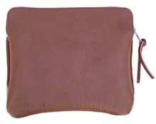 SORRENTO SUNSET CASE IN TAN & NATURAL COW HIDE