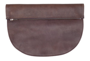 RAGS TO RICHMOND CLUTCH IN CHOCOLATE *PRE-ORDER