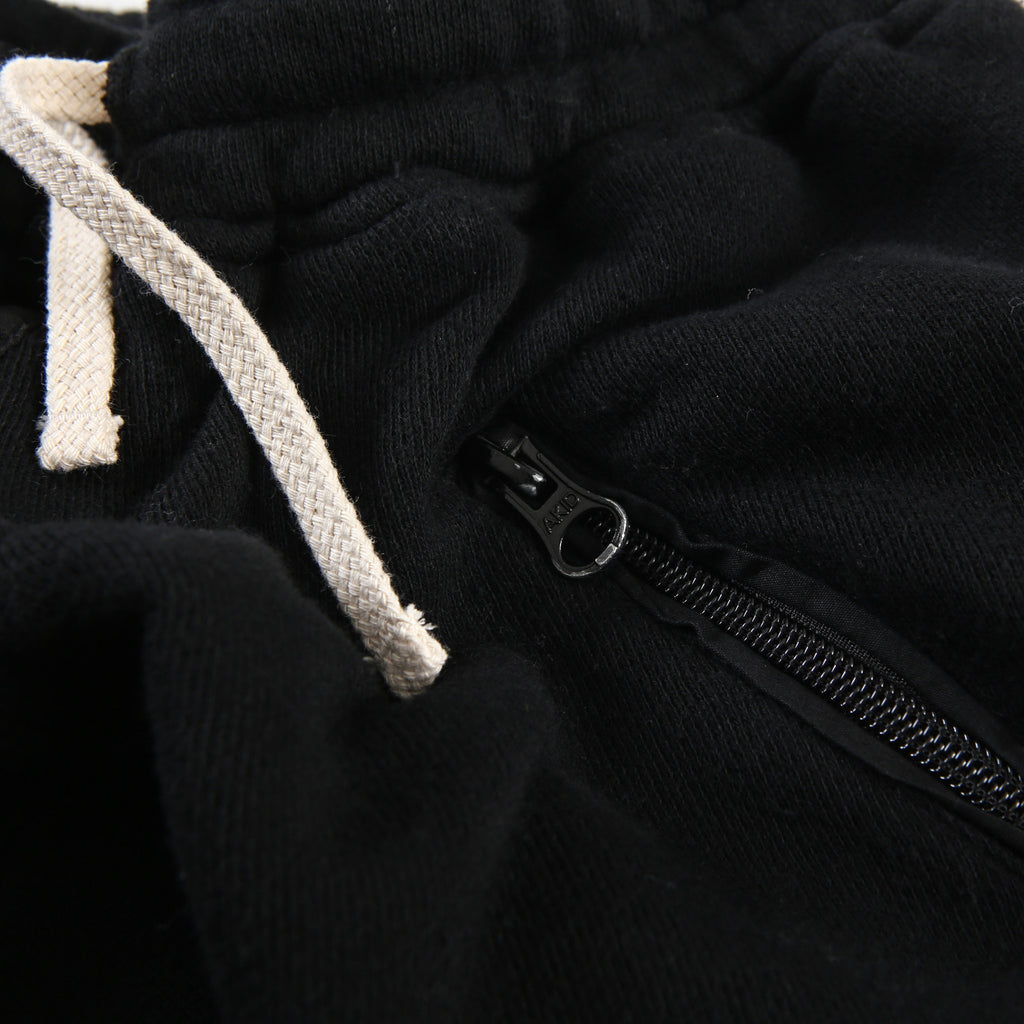 Black Terry Fleece Pant - AKID