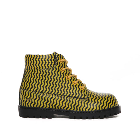 Atticus (Yellow/Black Chevron)