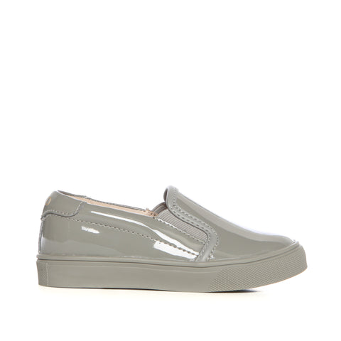 Liv (Light Grey Patent)