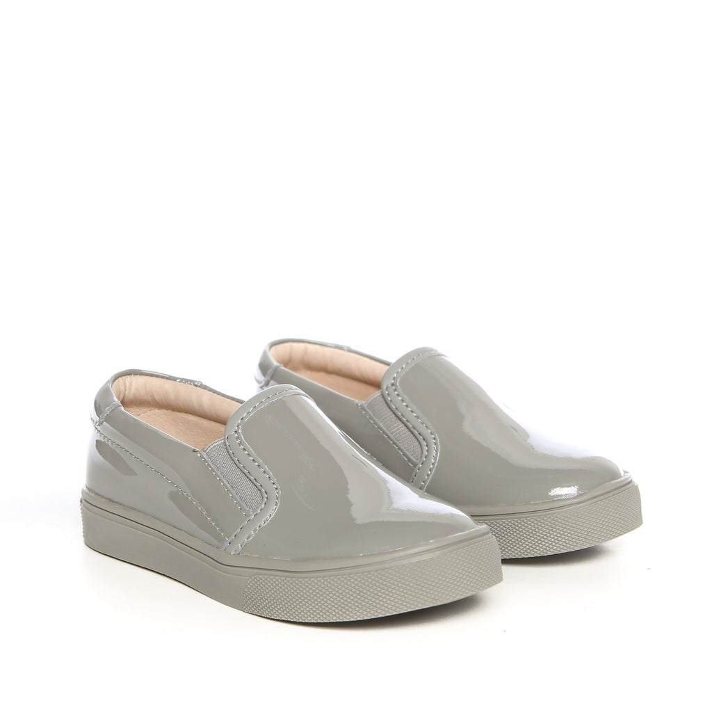 Liv (Light Grey Patent) AKID