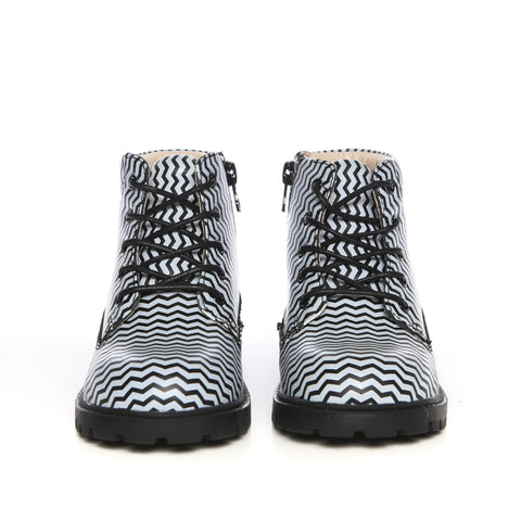 Atticus (Black/White Chevron)