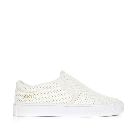 Liv (White Perforated)