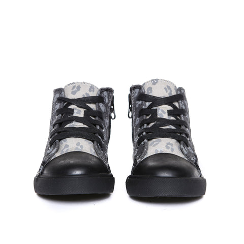 Anthony Hi (Black Tonal Leopard)