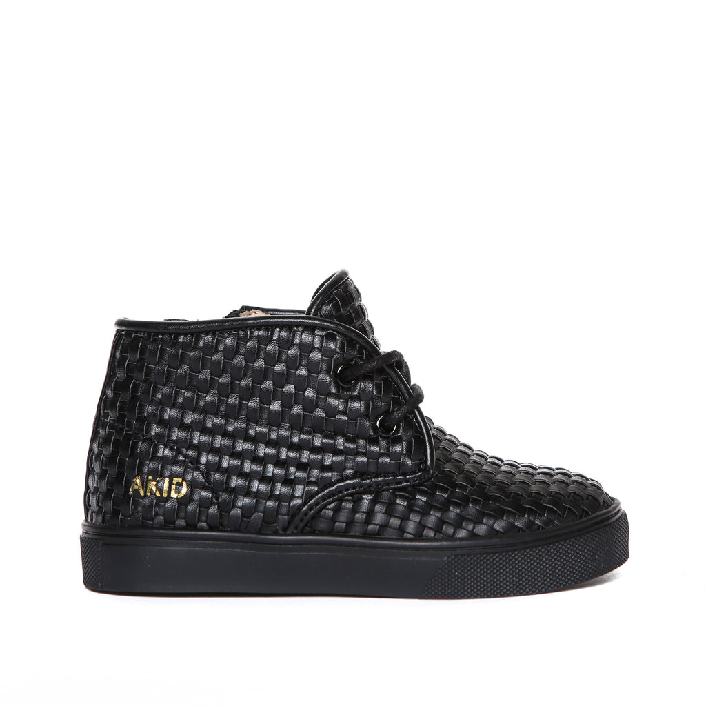 Knight (Black Leather Weave) AKID