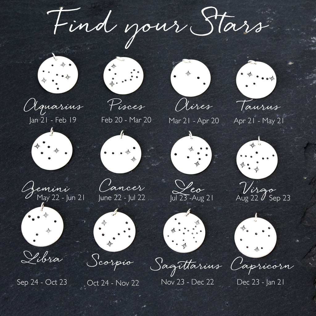 Scorpio Constellation Find your Stars Necklace