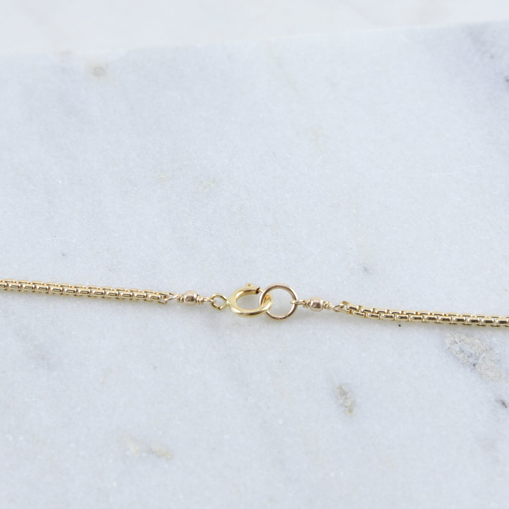 Eloise Layering Box Chain Necklace